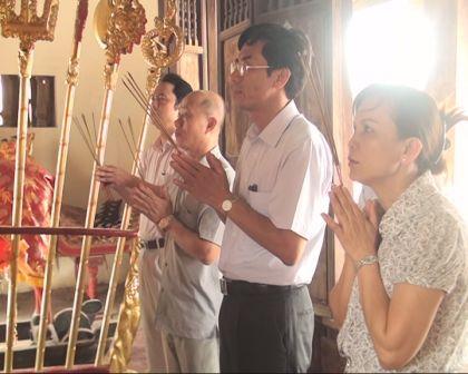 Cửa Lò kỷ niệm ngày mất Thái Uý Nguyễn Sư Hồi